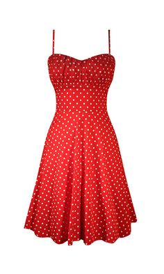This little a-line, polka dot dress has a beautiful fit! Smocking in the back and a ruched bust makes an impeccable look. • 90% Cotton, 10% Spandex • Made in the U.S.A. Style S9313-R