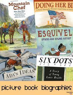 love these new inspirational nonfiction picture book biographies (fall 2016)