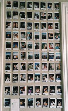 Más que fotografías instantáneas, es el detalle. Los recuerdos.