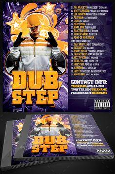 Dubstep Music Album | CD Cover Template