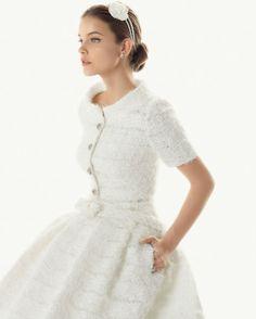 Vestido de noiva cosy: conforto e classe by Rosa Clará