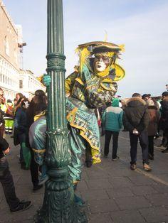 Costume at altitude! Venice