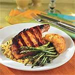 Saucy Pork Chops With Orange Slices Recipe | Going into the weekly rotation