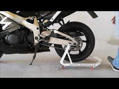 Pojízdný motostojan - YouTube Biker, Motorcycles, Vehicles, Youtube, Design, Tools, Blue Prints, Car