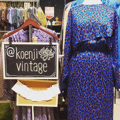 #Koenjivintage is stocked full of Japanese #vintagefashion @lostandfoundmarket.