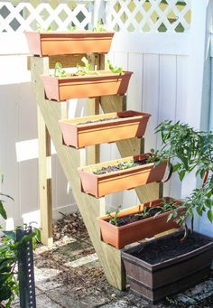 DIY Vertical Planters | The Owner-Builder Network