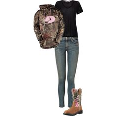 """camo cutie"" by amber-carroll88 on Polyvore"