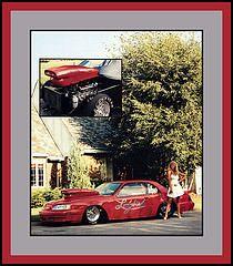 """""""Ladybird"""" Show Car, 1988 (Cosmo's """"ART"""" Gallery) Tags: ford 1987 1988 babe racing ladybird thunderbird customcar showcar"""