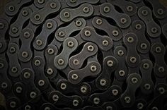 Bicycle chain background Photos Cycle chain in the grease can be used as a background. Low Key by villorejo Cycle Chain, New Bicycle, Bicycle Maintenance, Bike Chain, Sonic Art, Business Illustration, Abstract Photos, Everyday Objects, Low Key