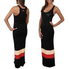 '47 Brand San Francisco 49ers Maxi Dress - Black