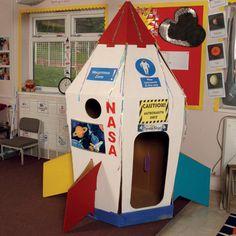Cardboard Super Spaceship