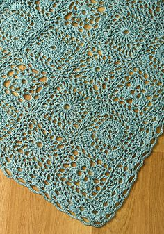 Free Crochet Pattern: Andante Throw