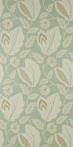 sanderson - duck egg blue Wallpaper