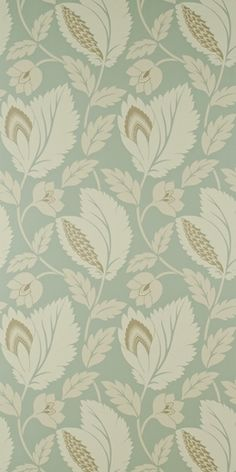 sanderson - duck egg blue Wallpaper