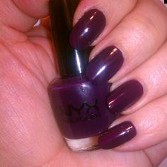 Abyss by NYX  #nyx #nyxcosmetics #nysxnailpolish #nails #nailpolishaddict #nails #swatch