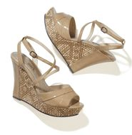 mark Wedge Right In Sandal - These sandals go with everything! You can get them over at #Avon they from the mark line.