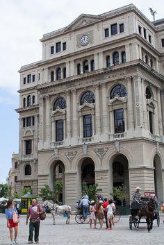 Havana, Cuba.  Plaza de San Francisco