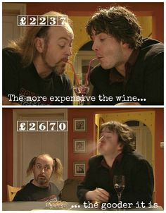 Dylan Moran and Bill Bailey, poss the greatest sitcom duo ever?