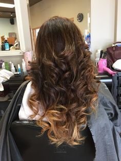 look what Rocky Tonini did to my hair!!!!! I love it #darkombrehair#rockytonini