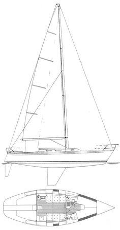 Vintage Pond Model 1930 Sailboat Blueprint Plans 2 pgs 20