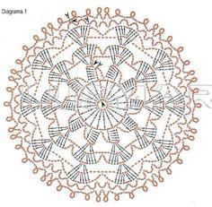 Dessous de verre et ses grilles gratuites ! - Fleurs et Applications au Crochet