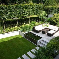 Bildergebnis für garden design modern