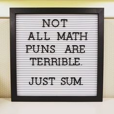 Funny Puns Humor Ideas For 2019 Math Puns, Math Memes, Puns Jokes, Corny Jokes, Math Humor, Funny Puns, Teacher Humor, Funny Quotes, Funny Humor