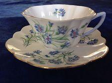 Vintage Shelley Fine Bone China England Tea Cup & Saucer Stratford Style