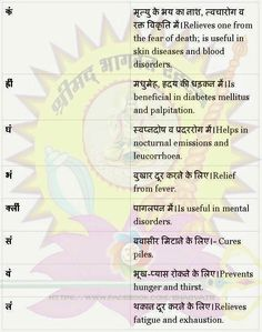 Beej mantra to cure diseases