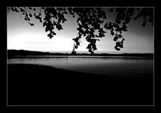 Lago di Varese in Black & White by edivad82