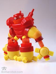 Robôs Bottlerobot. Reciclagem da melhor qualidade!