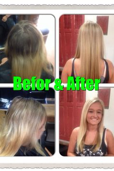 Highlights root touchup before and after. Highlights by Krista Gasca. Arte salon
