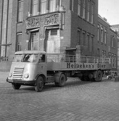DAF H-30762 Heineken met schommelas trailer