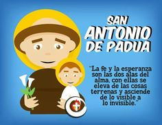 San Antonio de Padua Religious Icons, True Love, Family Guy, San Antonio, Saint Anthony Of Padua, Sheep Drawing, Dios, Real Love, Griffins