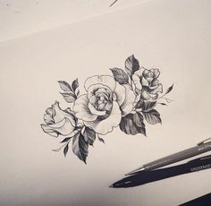 design-tattoo-flower-small-rose-tattoo-picture-pink beauty  Projets à essayer  http://tattooforideas.com/wp-content/uploads/2017/12/dessin-tatouage-fleur-petite-rose-tatouage-image-rose-beaute.jpg