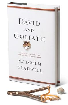 David and Goliath by Malcolm Gladwell,  an inspiring book tonhelp you gain a different perspective on life situations