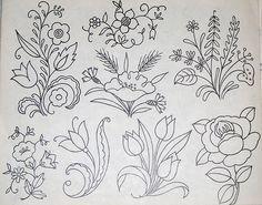 Vintage embroidery patterns #@af's collection