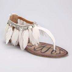 Trendy flat #sandal