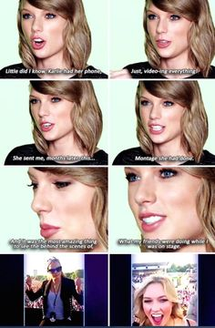 Taylor on the 'Karlie Kam' // The 1989 World Tour Live