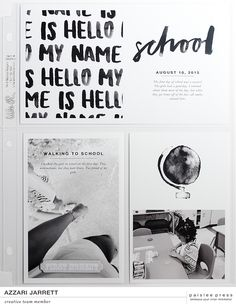 Hey guys! Super excited to share more projects from the creative team featuring Class In Session Journal Cards + Photo Templates.  See more projects using Class In Session HERE.