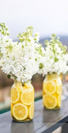 Lemon Vases