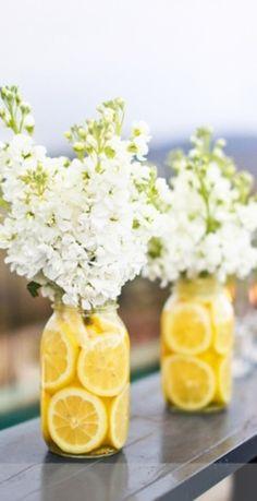 Lemon Vases