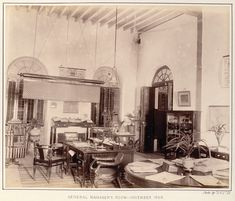 British Colonial Decor in India