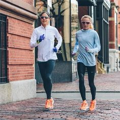 Kara Goucher and Shalane Flanagan. Proof that your training partner can be a great friend.
