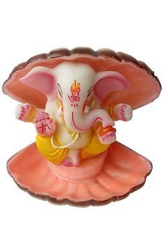 #Returnfavors bring you a antique art festive special statue of laddu #ganesha in shell. http://www.returnfavors.com/antique-art-laddu-ganesha-statue-by-returnfavors/