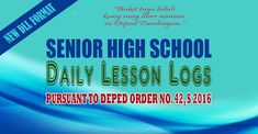 Weekly Entrepreneurship DLL for Senior High School (SHS) | DEPED TAMBAYAN PH
