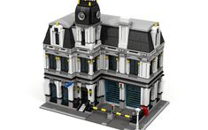 Modular houses - building tips & inspirations Home Building Tips, Building A House, Lego City Police Station, Friendship House, Lego Building Blocks, Lego Modular, Thing 1, Lego Architecture, Lego Projects