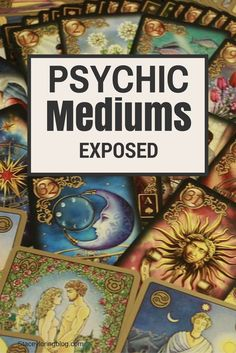 Not all mediums are fake, but the fake ones who perform emotional rape, give the real psychics a bad name. Read more about this on my blog.