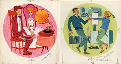 Song Hits illustration, 1959. No artist credit.