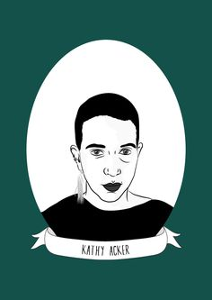 Kathy Acker was an American experimental novelist, punk poet, playwright, essayist, postmodernist and sex-positive feminist writer. She is best known for her 1984 novel Blood and Guts in High School.